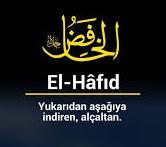 Allahın EL-HÂFİD İsmi 1481 Defa Niye Okunur?
