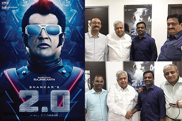 2.0 Movie Telugu Rights Bagged By Global Cinema