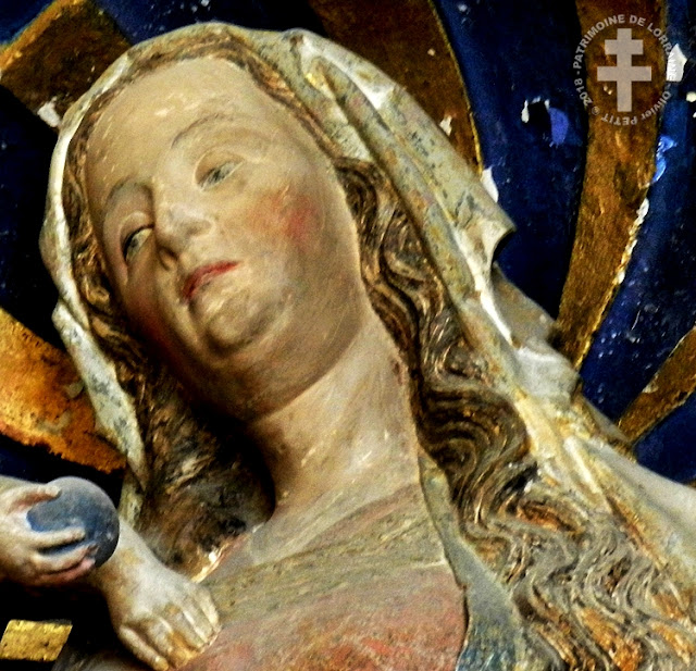 DOMJULIEN (88) - Vierge à l'Enfant (XVIe siècle)