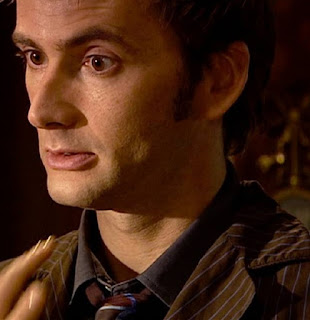 10th Doctor brown suit collar