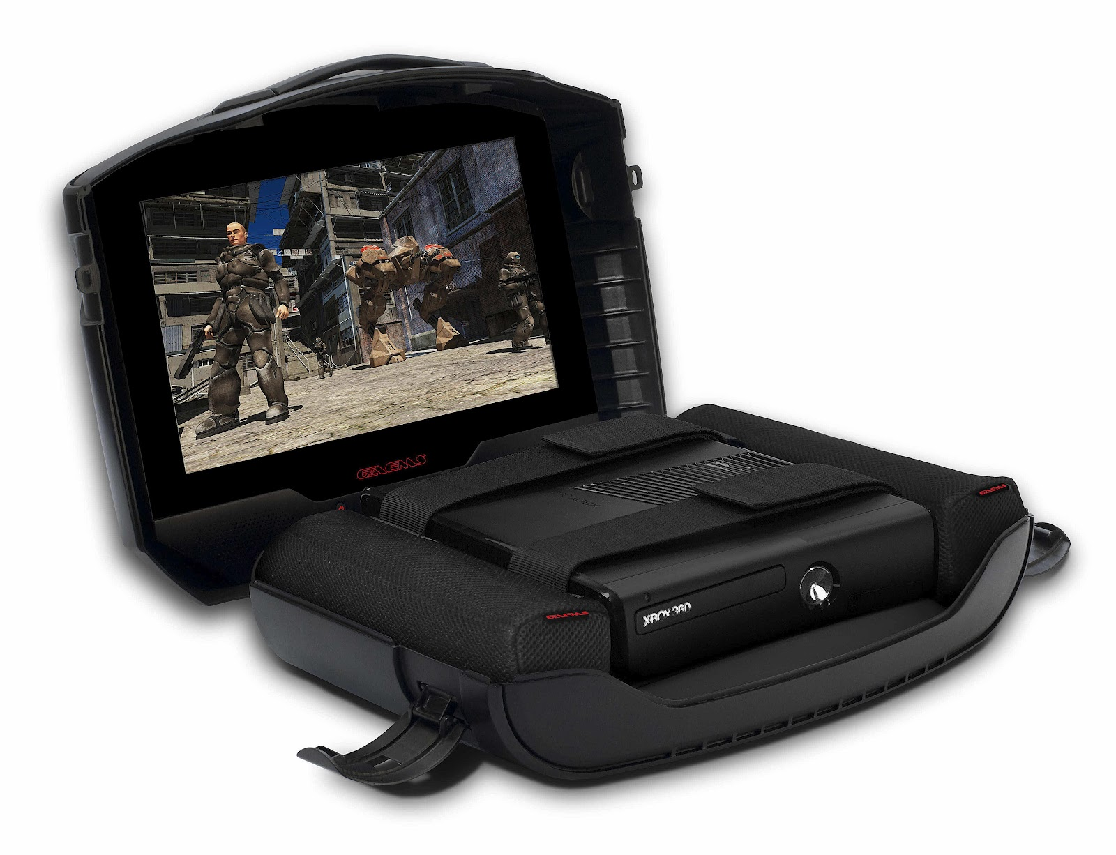 TOP GADGET INFO: GAEMS G155 MOBILE GAMING CASE (XBOX 360 ...