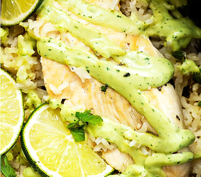 One Pot Cilantro Lime Chicken  Rice
