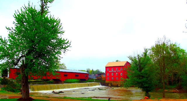 Bridgeton Mill and Covered Bridge, Bridgeton, Indiana