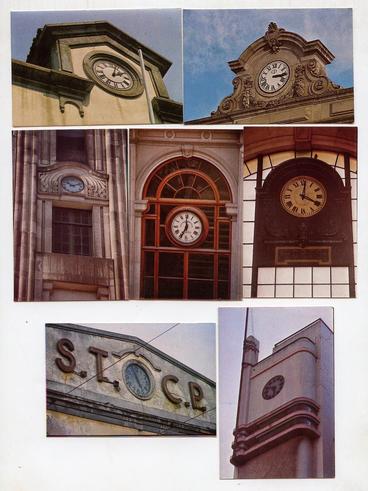 9d31023db0a Calendários - relógios públicos do Porto   Relojoaria Marcolino e Omega    Relojoaria Mendonça e Universal   Ourivesaria do Bolhão e Invicta