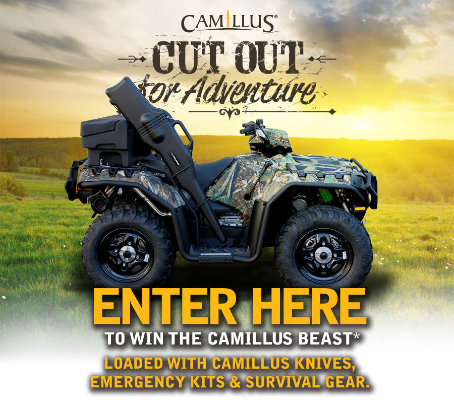 Enter the Camillus Cut Out for Adventure Sweepstakes