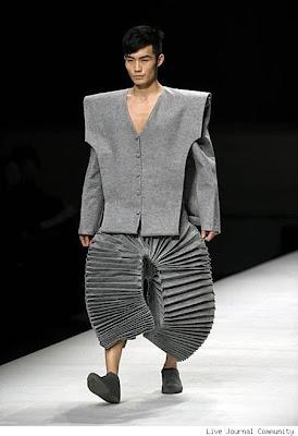 أغرب أزياء شبابية ملابس غريبة