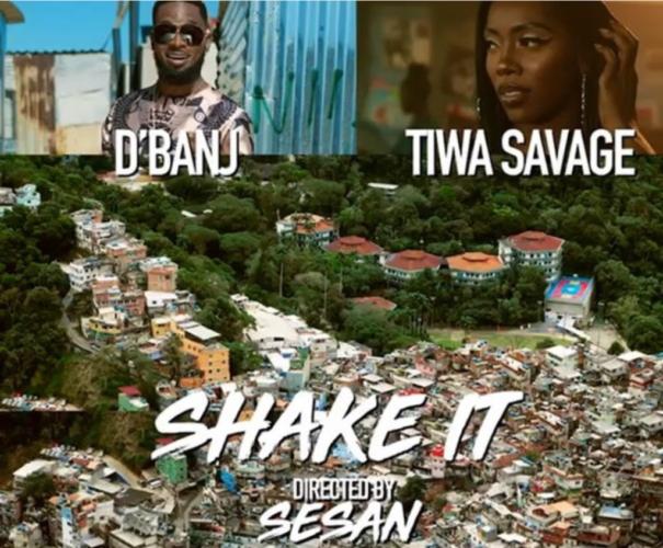 D'Banji Ft Tiwa Savage - Shake It