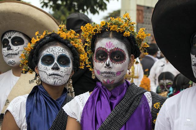 catrinas en el día de muertos en Oaxaca