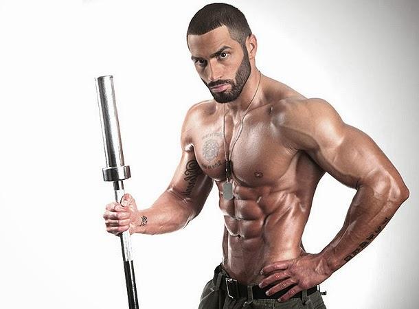 Lazar Angelov- Male Fitness Model  Bodybuilding And -9545