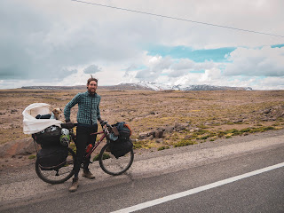 Esto será mi mayor desafío viajando en bicicleta
