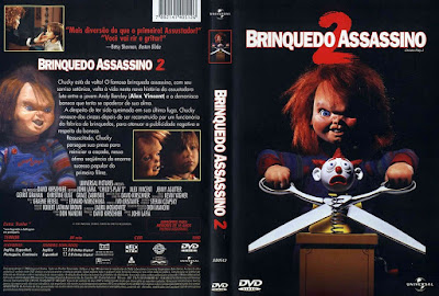 Filme Brinquedo Assassino 2 (Child's Play 2) DVD Capa