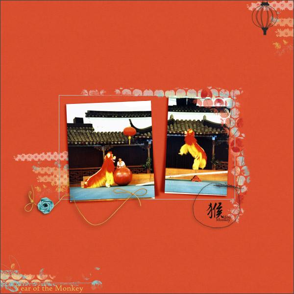 monkey © sylvia • sro 2016 • chunlin designs • hoú monkey