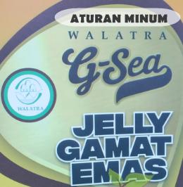 Aturan Minum Walatra G Sea Jelly Gamat Emas