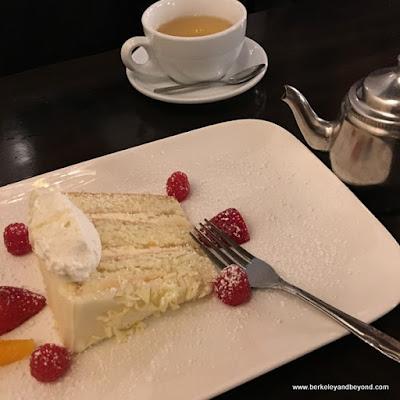 marscapone layer cake at Nico's 1508 in Berkeley, California