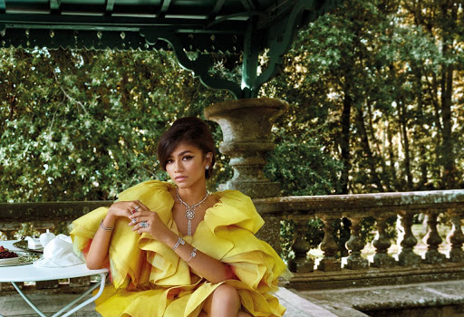 Zendaya Coleman beautiful fashion model latest photo