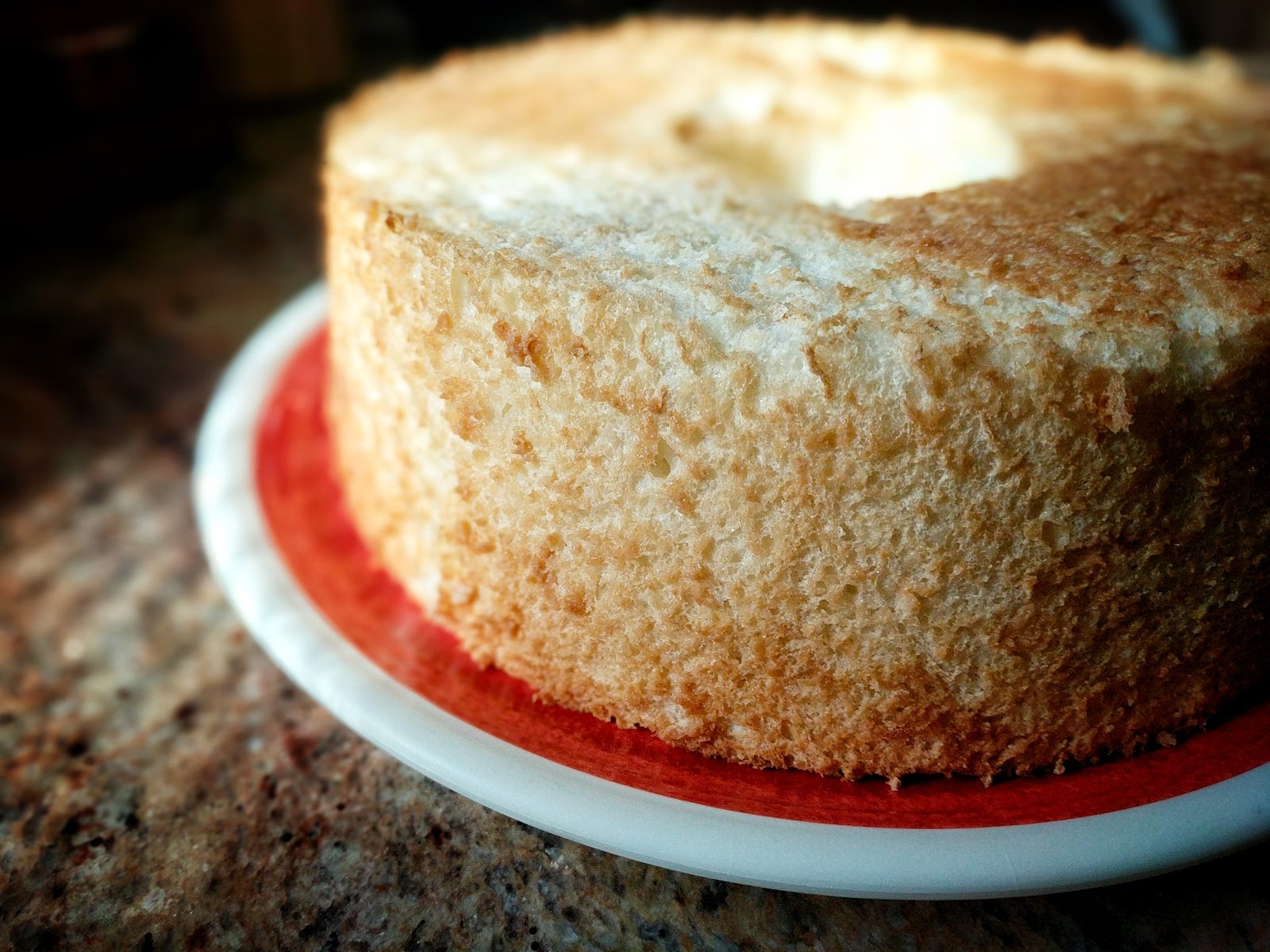 easy light and fluffy angel food cake