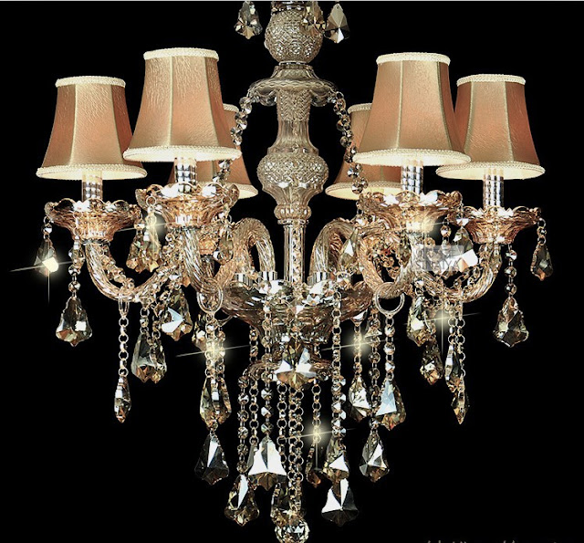 modern chandelier lamp shades