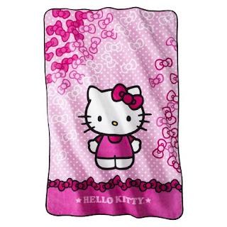 Gambar Selimut Hello Kitty 4