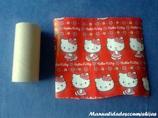 empaquetado tubos carton