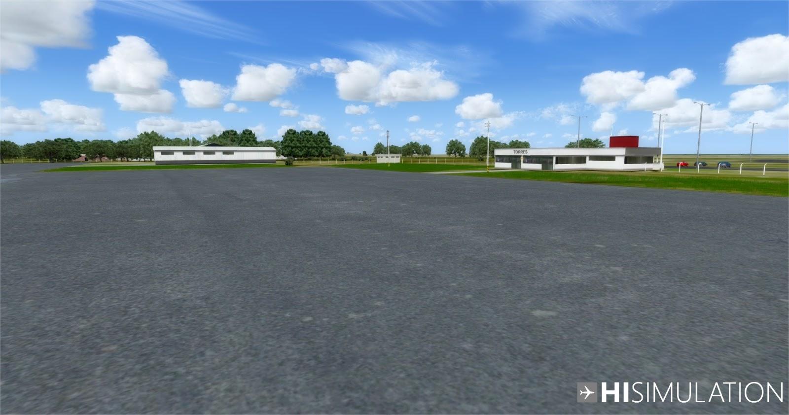 [Loja] SBTRX2018 - Aeroporto de Torres FSX, Prepar3D vs 3, 4