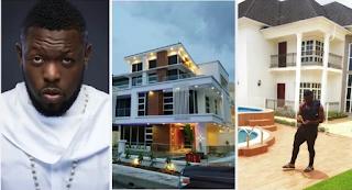 Take A Look AT Timaya's New Mansion In Lekki (Photos)