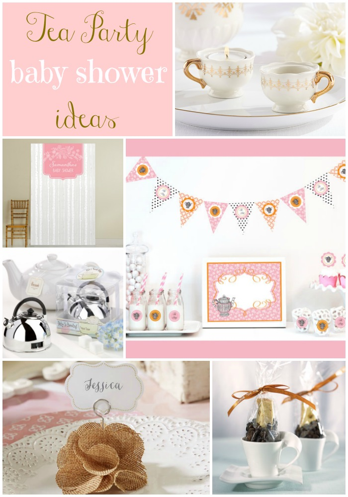Vintage Tea Party Baby Shower Ideas - Momma Without a Clue