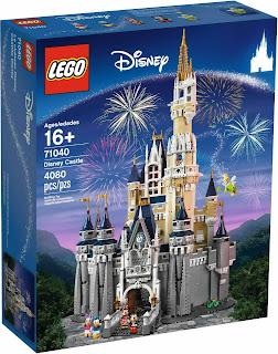 set database: LEGO 71040 disney castle