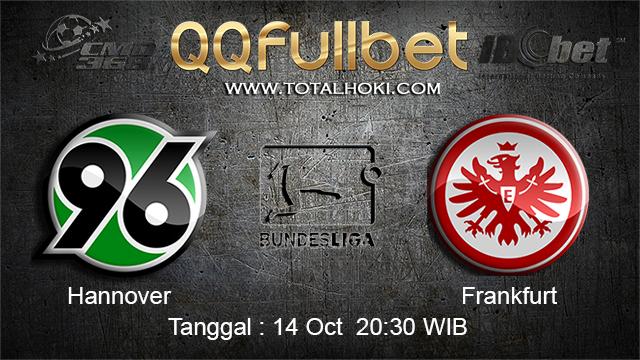 PREDIKSIBOLA - PREDIKSI TARUHAN BOLA HANNOVER VS FRANKFURT 14 OCTOBER 2017 (BUNDESLIGA)