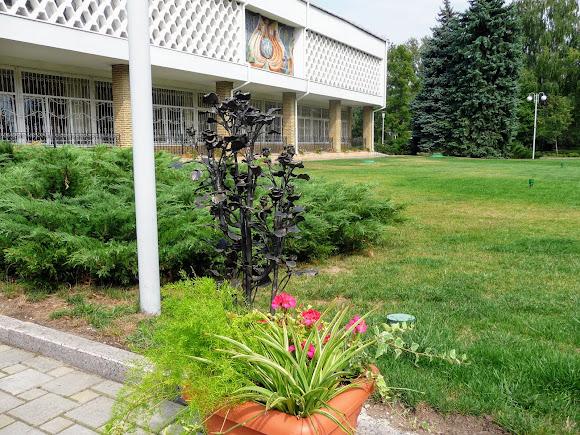 Донецьк. Ботанічний сад. Ковані букети