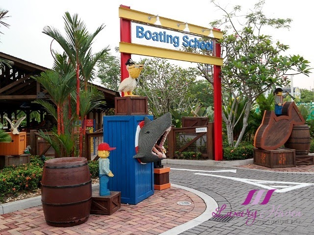 legoland theme park lego city boating school malaysia