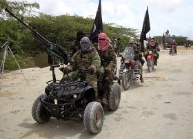 Boko Haram vehicle
