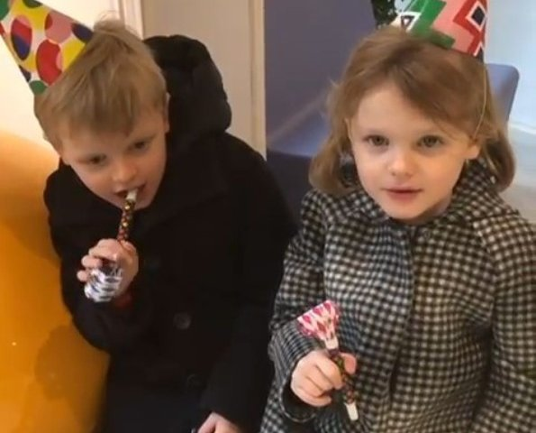Twins of Prince Albert and Princess Charlene of Monaco, Princess Gabriella and Crown Prince Jacques celebrate their 5th birthday