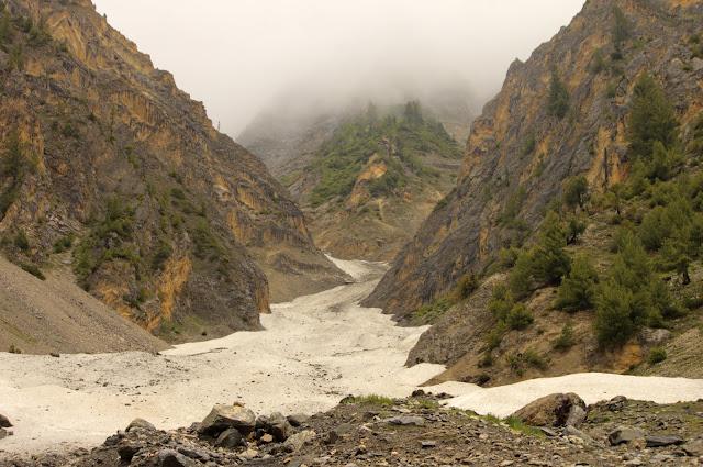 Thajiwas Glaciers in Sonmarg, Kashmir