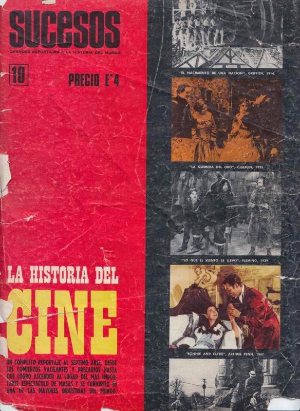 La historia del cine – Revista Sucesos N 10
