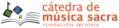 Cátedra de música sacra. Fundación Victoria