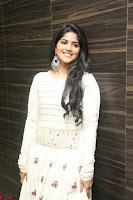Megha Akash in beautiful White Anarkali Dress at Pre release function of Movie LIE ~ Celebrities Galleries 068.JPG