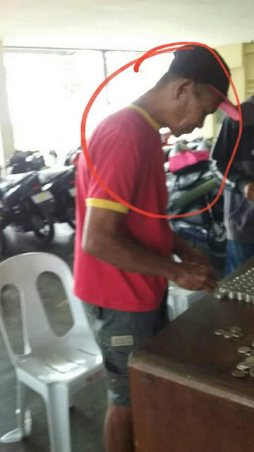 Lolo Saves 10-peso-coin to buy motorcycle/FACEBOOK