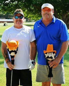 Mike Proctor & Brad Gilbert during the Labor Day Tournament,, or