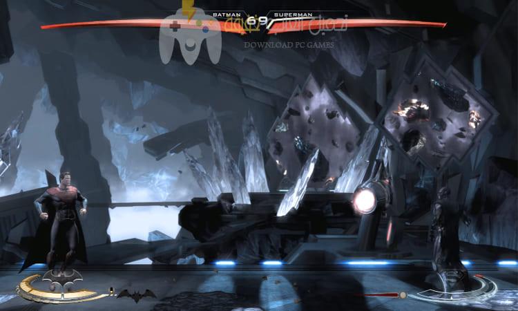 تحميل لعبة باتمان ضد سوبر مان