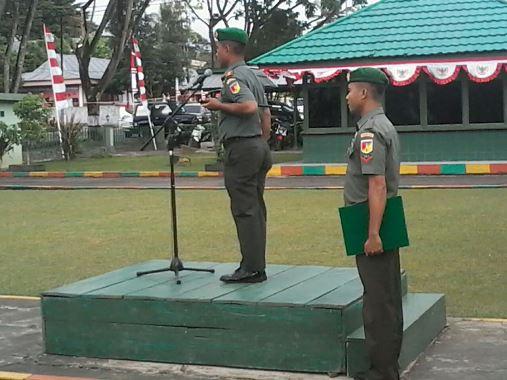 Upacara Bendera Kodim 1302/Min, Dandim Purnama: Gelorakan semangat mengisi kemerdekaan
