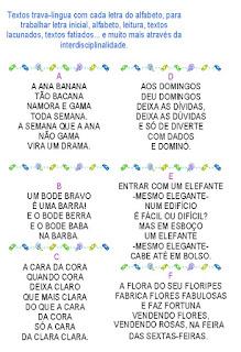 Folclore brasileiro, trava-línguas