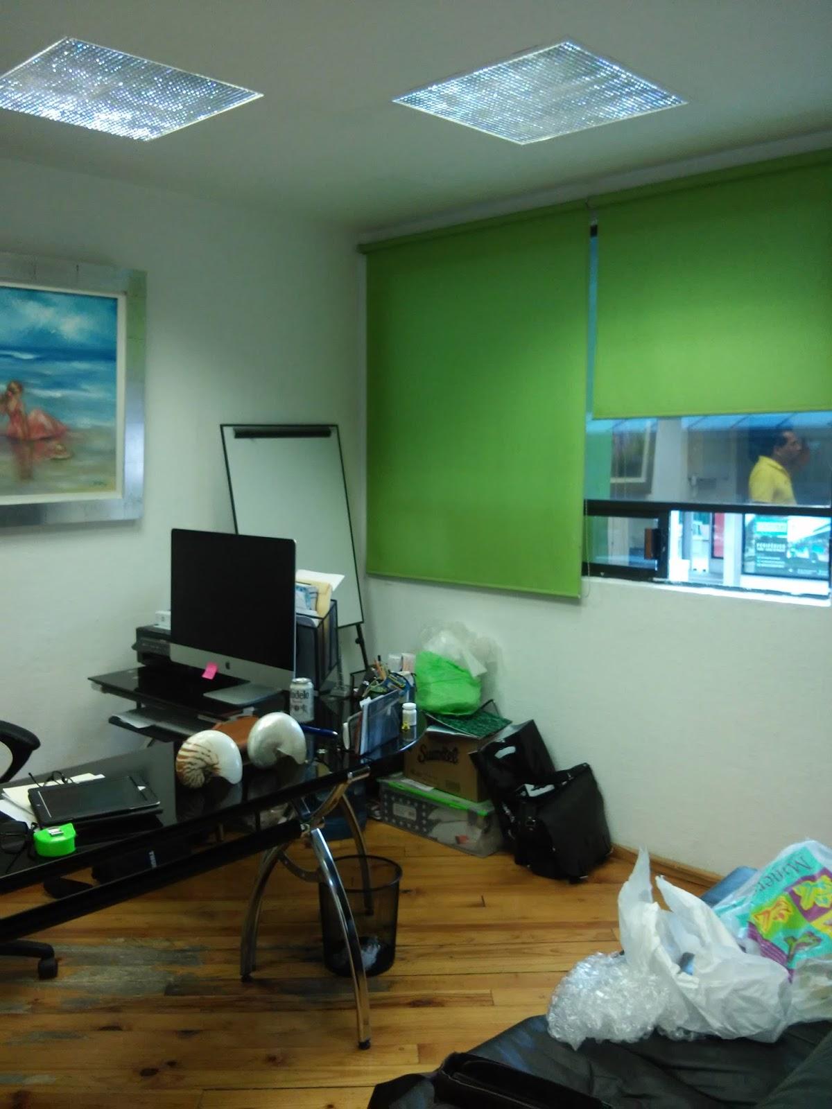 Despacho de arquitectos decoraci n de oficinas peque as for Decoracion de interiores para oficinas