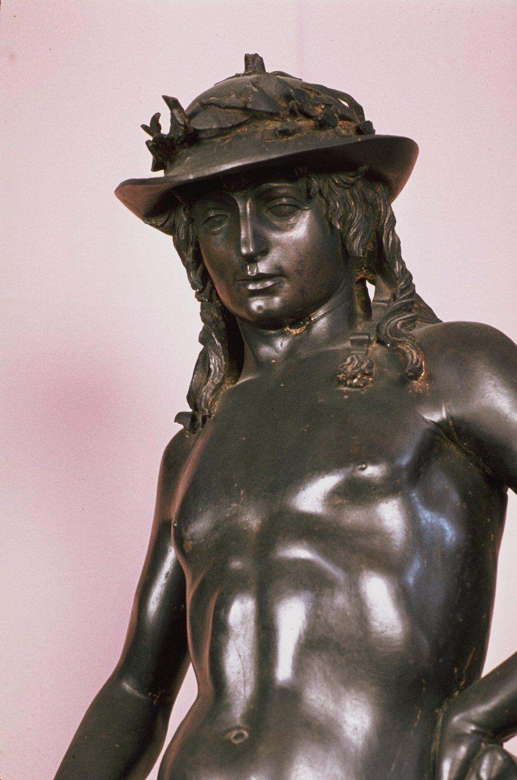 an analysis of donatellos bronze david His free-standing bronze david, his architectural statues of prophets and saints for the florentine campanile and church of orsanmichele and his.