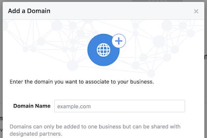 Cara Mudah Perivikasi Domain TLD Ke Facebook 100 persen ampuh
