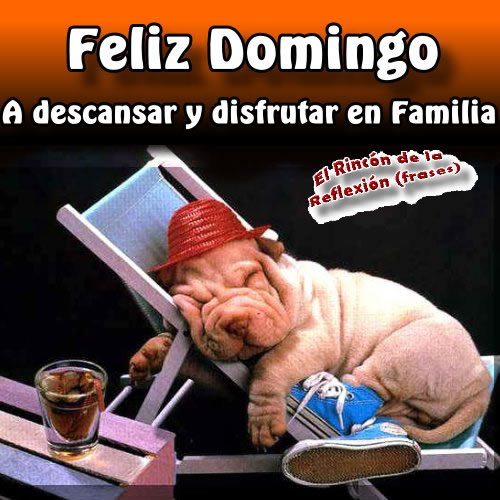 Feliz Domingo descansar