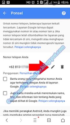 Cara Mengganti Nomor Hp Di Gmail