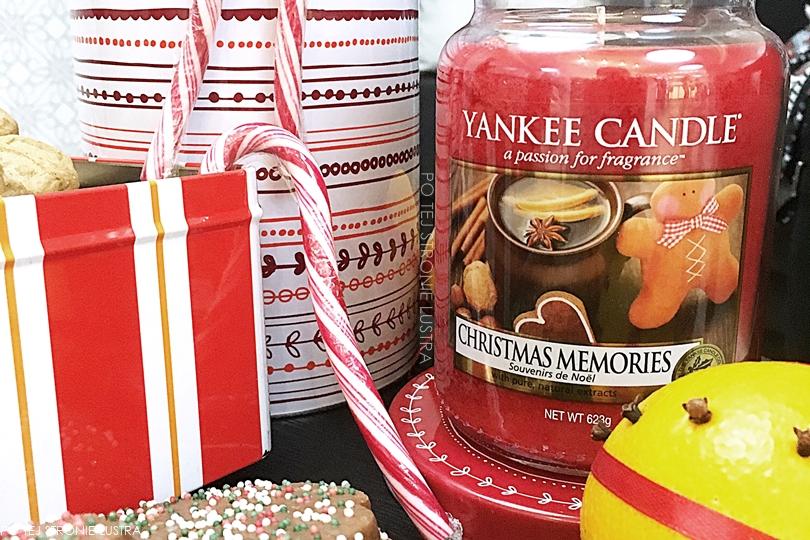 yankee candle christmas memories