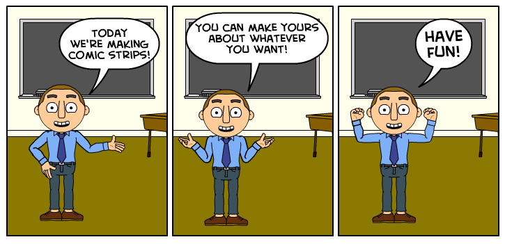 Mcscs 7th Grade Computer Technology Comic Strips