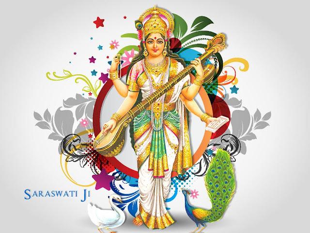 Best Maa Saraswati Jee HD Wallpaper