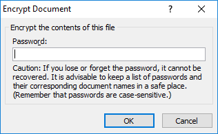 Cara Membuat Password Microsoft Excel